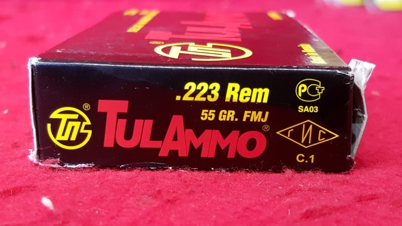TUL AMMO Ammunition .223 55 GR FMJ