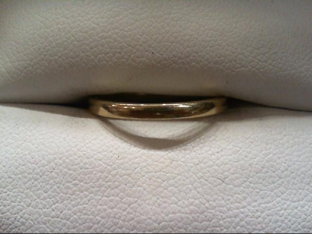 Lady's Gold Wedding Band 14K Yellow Gold 1.7g