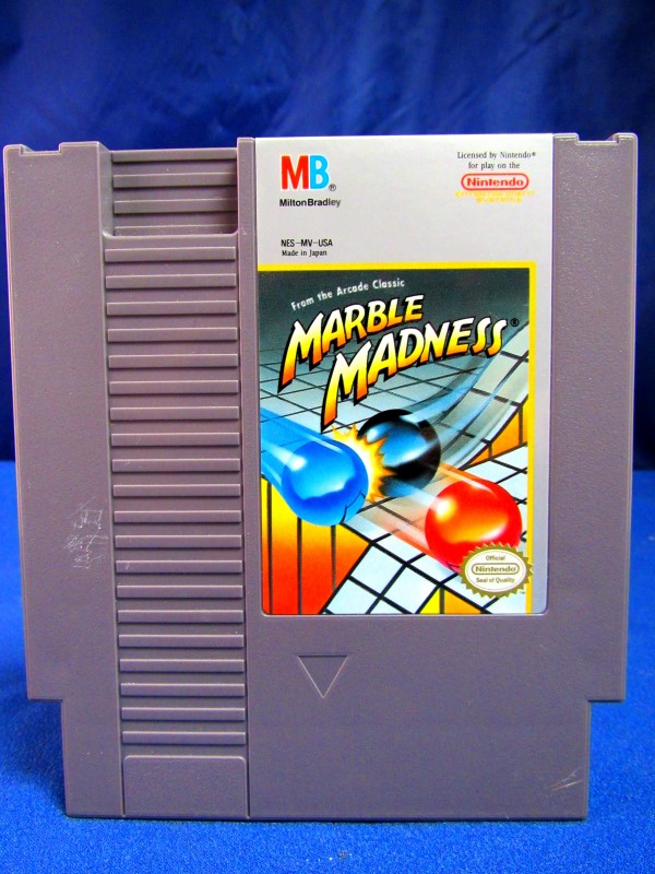 NES: MARBLE MADNESS