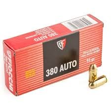 FIOCCHI AMMUNITION Ammunition 380AP