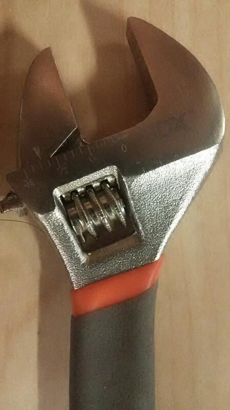 HDX Adjustable Wrench