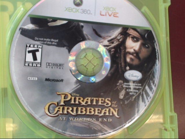 XBOX360 PIRATES OF THE CARIBBEAN AT WORLD'S END