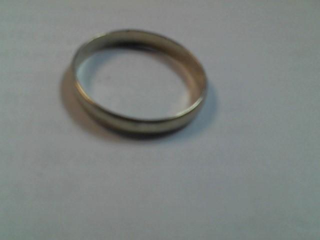 Gent's Gold Ring 14K White Gold 2.2g Size:12