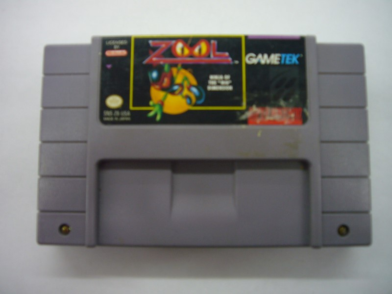 NINTENDO SNES Game ZOOL *CARTRIDGE ONLY*