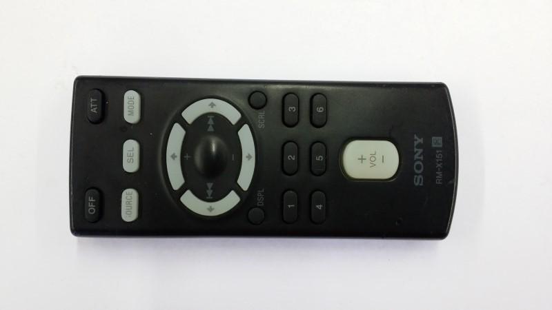 SONY RM-X151 remote