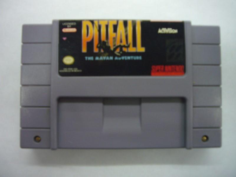 NINTENDO Nintendo SNES Game PITFALL THE MAYAN ADVENTURE