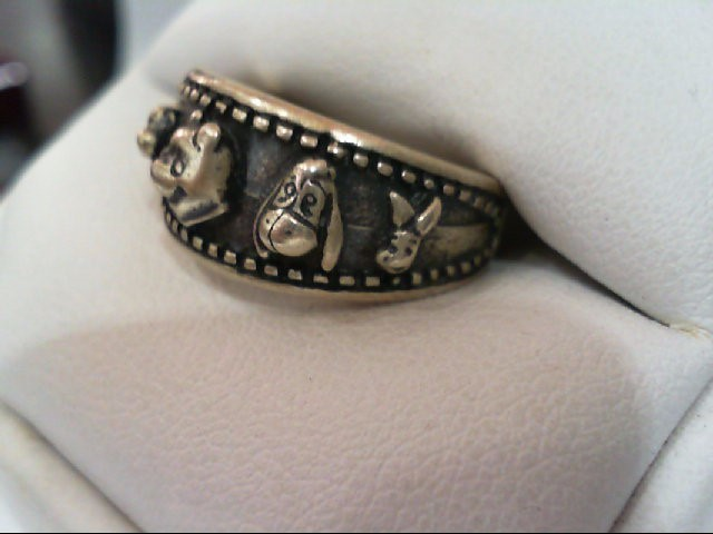 Lady's Silver Ring 925 Silver 7.7g