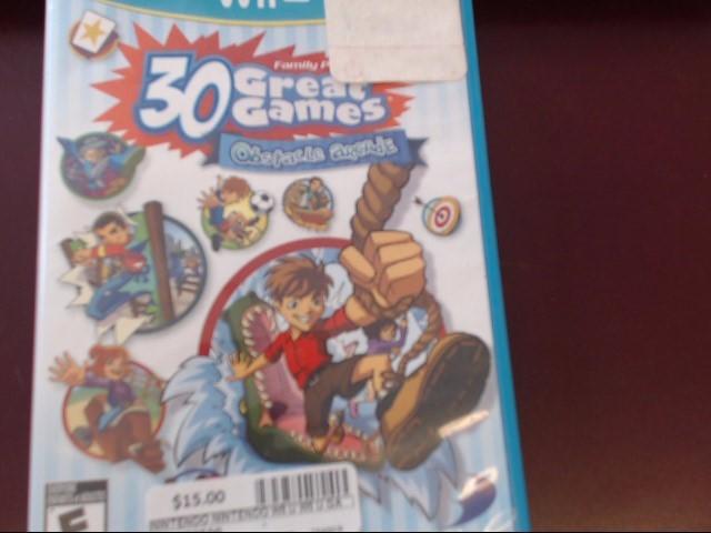 WII U 30 GREAT GAMES