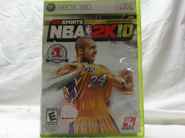 MICROSOFT Microsoft XBOX 360 Game NBA 2K10