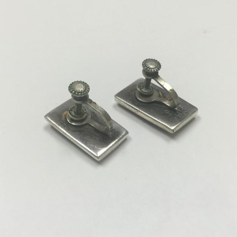 Silver Abelone Cuff Links 925 Silver 5dwt