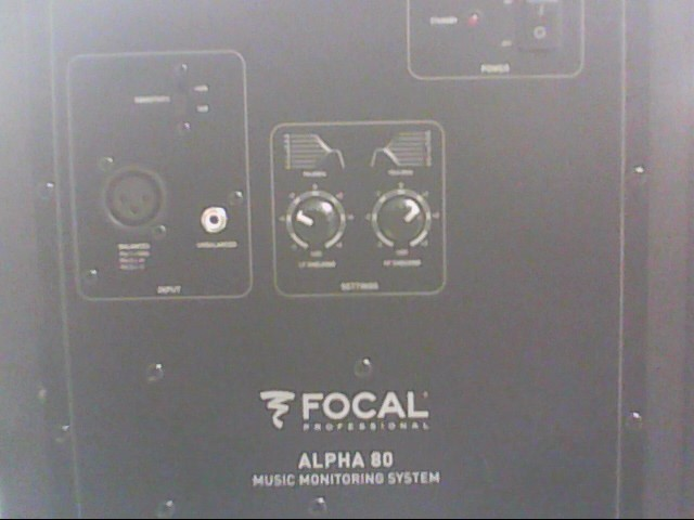 FOCAL Speakers ALPHA 80