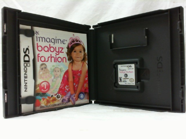NINTENDO Nintendo DS Game IMAGINE BABYZ FASHION