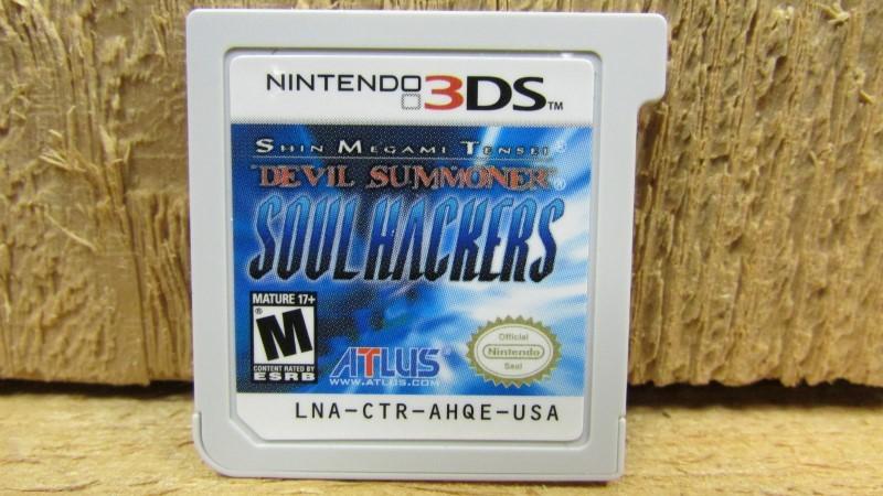 NINTENDO Nintendo 3DS Game SHIN MEGAMI TENSEI DEVIL SUMMONER SOUL HACKERS 3DS