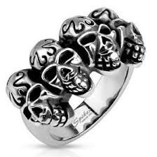Gent's Ring Silver Stainless 8.04dwt
