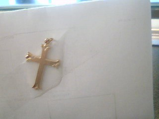 Gold Charm 14K Yellow Gold 0.9g