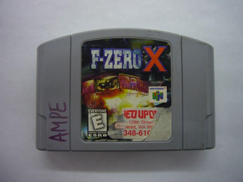 NINTENDO 64 Game F-ZERO X *CARTRIDGE ONLY*