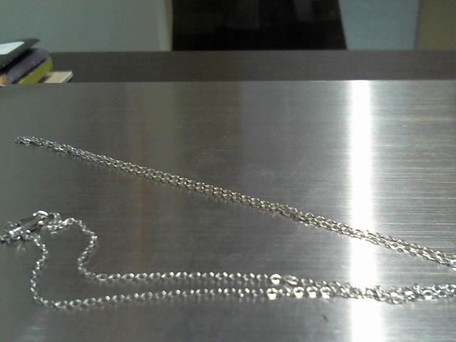Gold Chain 14K White Gold 7.2g