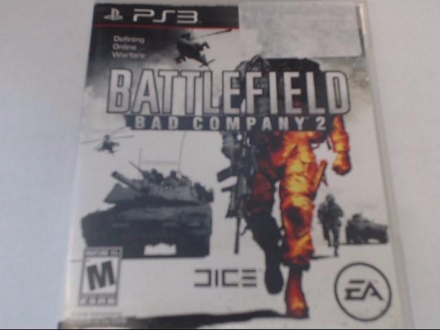SONY PS3 BATTLEFIELD BAD COMPANY 2