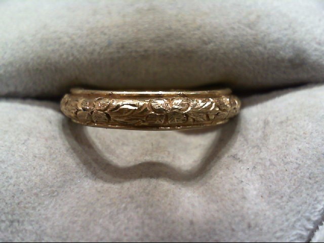 Lady's Gold Ring 14K Yellow Gold 5.4g