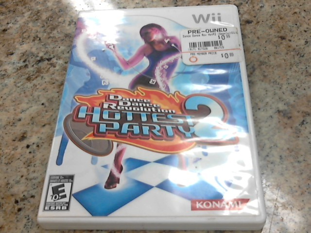 NINTENDO Nintendo Wii Game DANCE DANCE REVOLUTION HOTTEST PARTY 2
