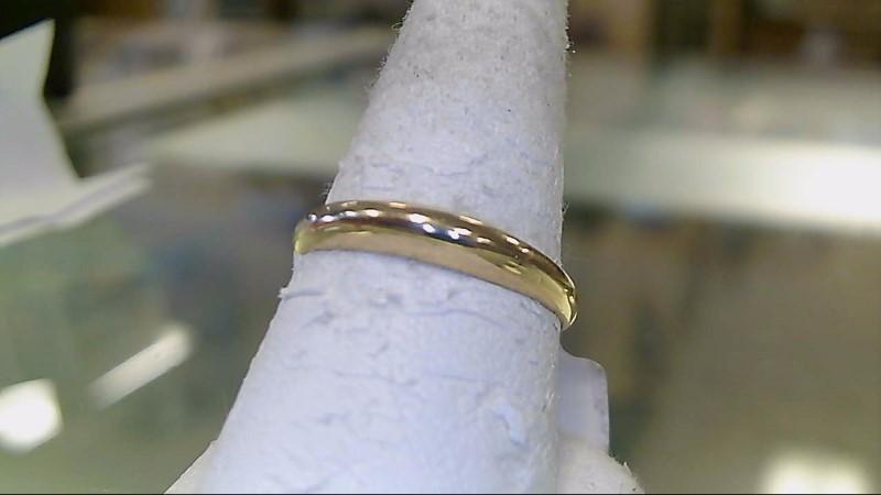 Lady's Gold Wedding Band 14K Yellow Gold 1.4g