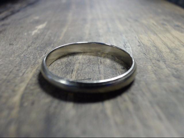 Gent's Gold Ring 14K White Gold 2.7g Size:10
