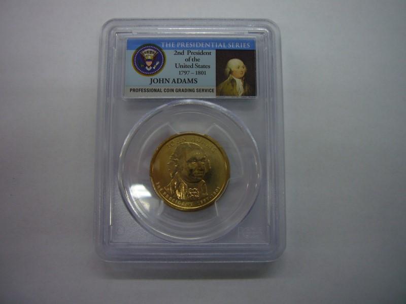 UNITED STATES Coin 2007 P JOHN ADAMS MINT ERROR COIN