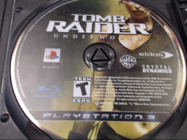 SONY PS3 TOMB RAIDER UNDERWORLD