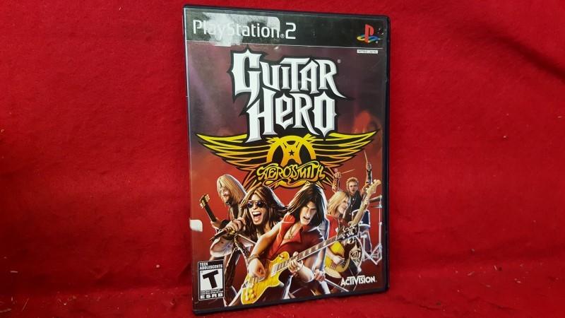 SONY Sony PlayStation 2 Game GUITAR HERO AEROSMITH PS2