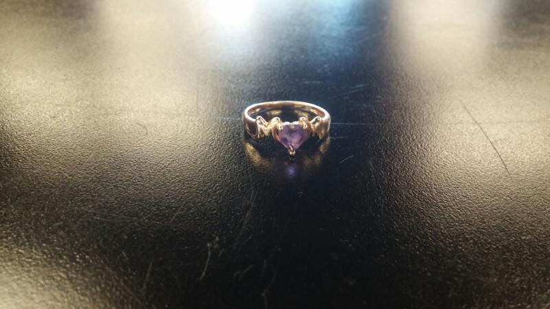 Lady's Gold Ring 10K Yellow Gold 1.4dwt Size:8.5