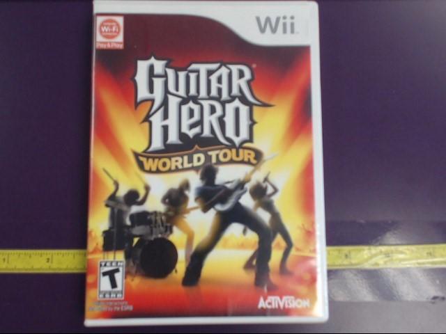NINTENDO WII GUITAR HERO WORLD TOUR