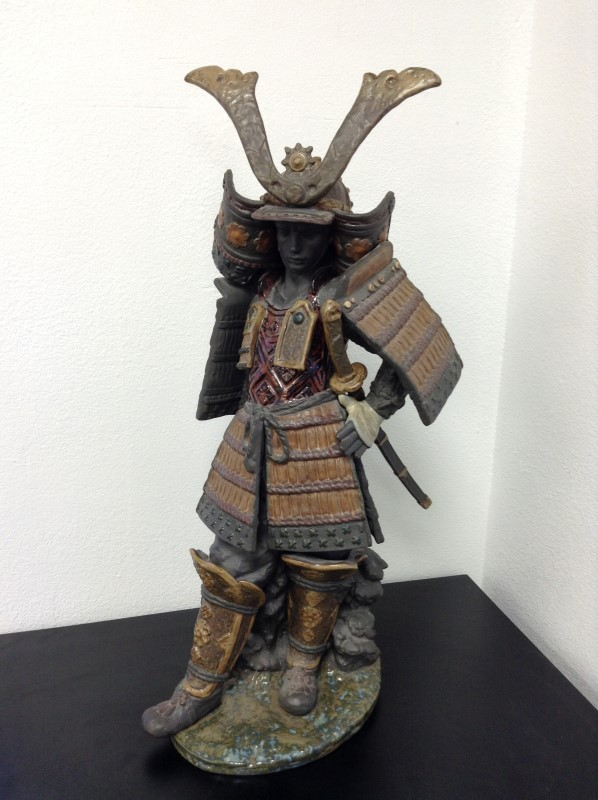LLADRO Collectible Plate/Figurine 3575 SAMURAI