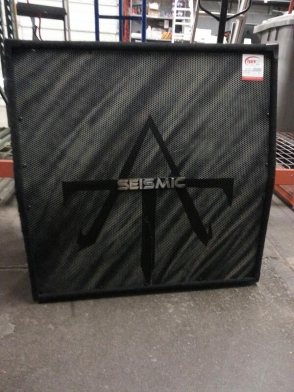 SEISMIC AUDIO Speaker Cabinet SA-412