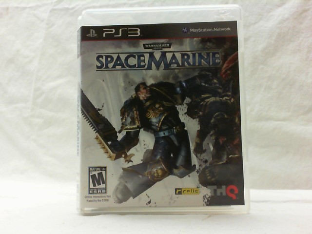 SONY Sony PlayStation 3 Game WARHAMMER SPACE MARINE