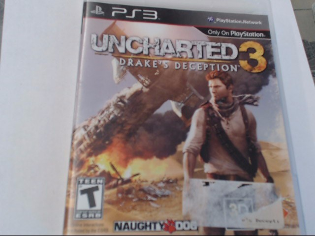UNCHARTED 3 PS3 GAME