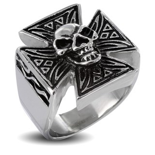 Gent's Ring Silver Stainless 12.79dwt