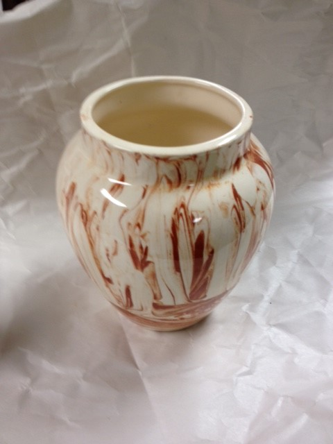 ALASKA CLAY VASE - ROSE ANNE MCDANIEL 1977