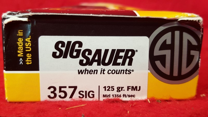 SIG SAUER Ammunition E357B1