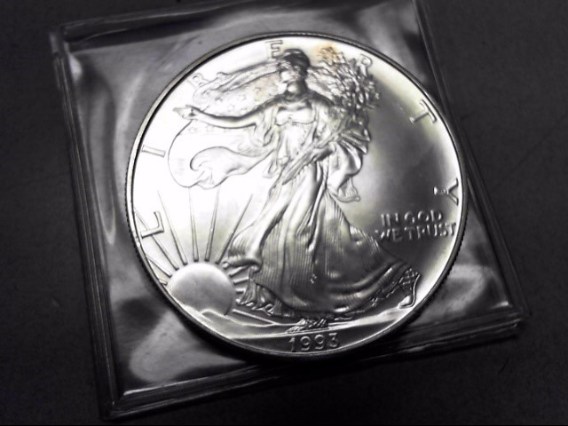UNITED STATES Silver Coin 1993 AMERICAN EAGLE DOLLAR