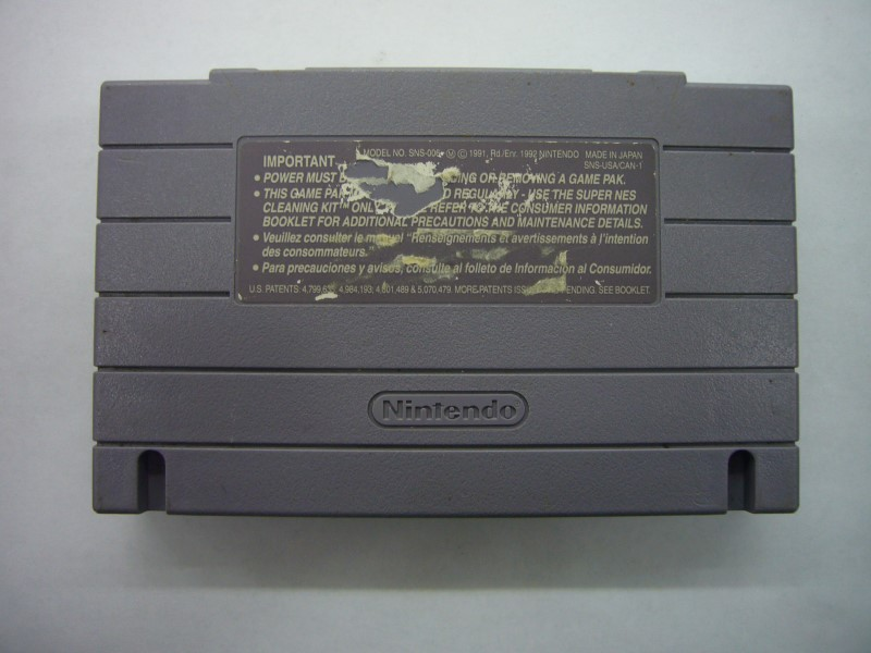 """SNES PLOK """"GAME ONLY"""""""