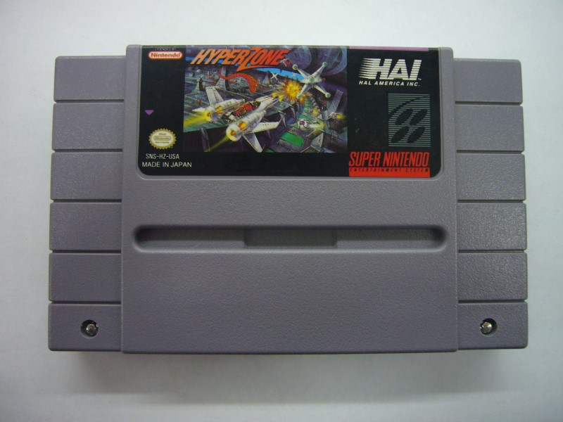 NINTENDO SNES Game HYPERZONE *CARTRIDGE ONLY*