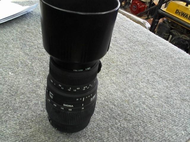 SIGMA Lens/Filter 70-300MM 1:4-5.6