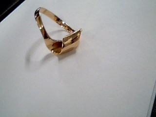 Lady's Gold Ring 14K Yellow Gold 3.2g