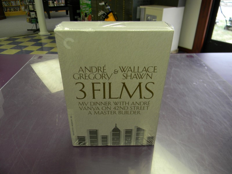 Andre Gregory & Wallace Shawn: The Criterion Collection 3 Film DVD