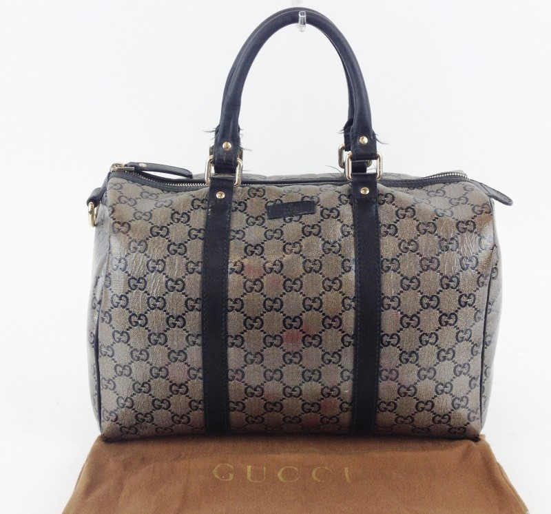 GUCCI METALLIC BOSTON BAG 193603