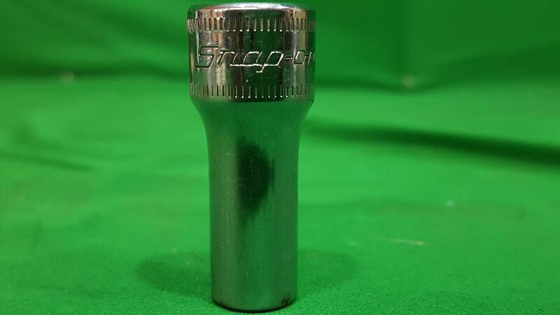 """SNAP ON FSMS9 SEMI DEEP 9 mm Socket 3/8"""" Drive 6 Point Tool"""