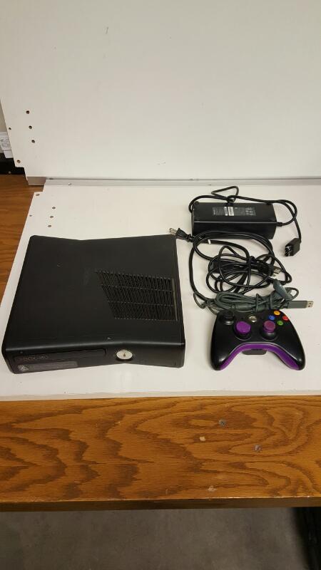 Microsoft Xbox 360 S Matte Black Console 250GB (Model 1439 ...