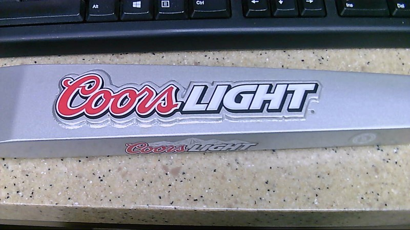 Coors Light Silver Beer Tap