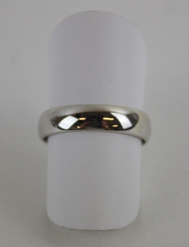 Lady's Gold Ring 14K White Gold 3.97g Size:9