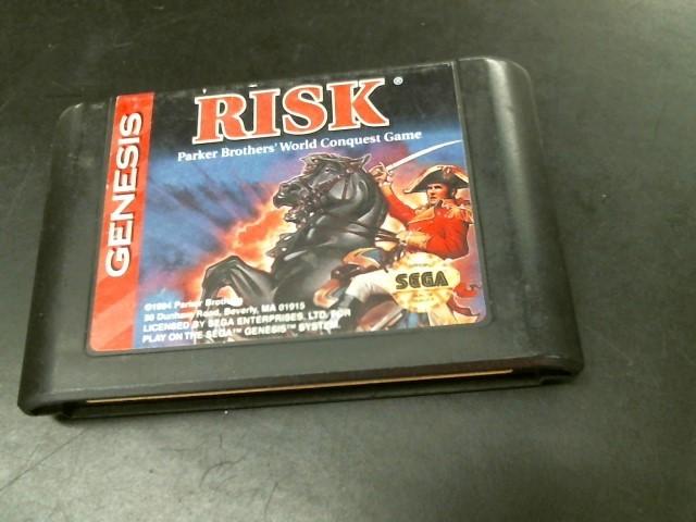 SEGA Sega Game GENESIS RISK
